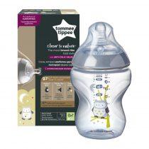 Tommee Tippee BPA-mentes cumisüveg 260ml színes fiú