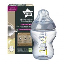 Tommee Tippee Closer to Nature  cumisüveg 260ml színes fiú