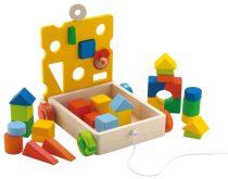 Sevi Mouse Cubes Építőkockák Egérrel 81675