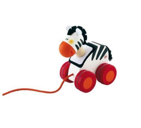 Sevi Fa húzható játék mini Zebra 81844