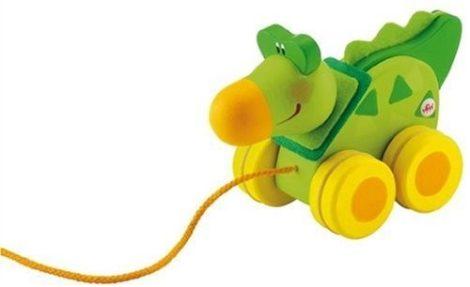 Sevi Fa húzható játék mini Krokodil 81846