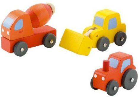 Sevi Cars fa játék 3 db-os 82129