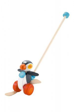 Sevi Tologatós Fa játék Pingvin 82189