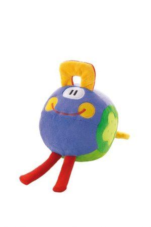 Sevi Ball Smile Blue 14 cm Textil játék 82280