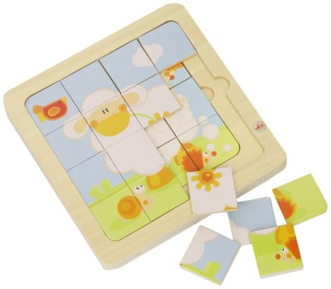 Sevi 4 In 1 Fa Puzzle Bárányos 82720