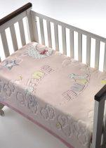 Mora Lux Plus Baby 043 Pléd 110*140 04-Rosa-dobozos