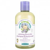 Earth Friendly Baby Organikus Levendulás Sampon és Tusfürdő 250 ml