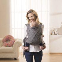 Chicco Boppy® ComfyFit csatos hordozókendő Grey