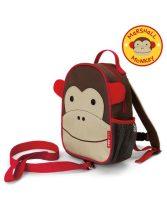 Skip Hop Zoo hátizsák pórázzal Majom