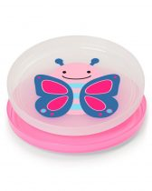 Skip Hop csúszásgátlós tányér lapos 2db-os Pillangó