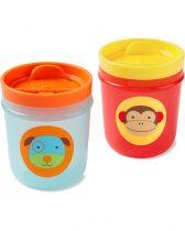 Skip Hop Zoo csőrös pohár - kutya és majom